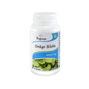Ginko Biloba za krepitev spomina pri sladkorni bolezni