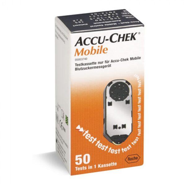 Accu-Chek Mobil kaseta, 50 meritev